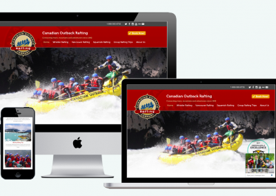 Canadian Outback Rafting Company Website