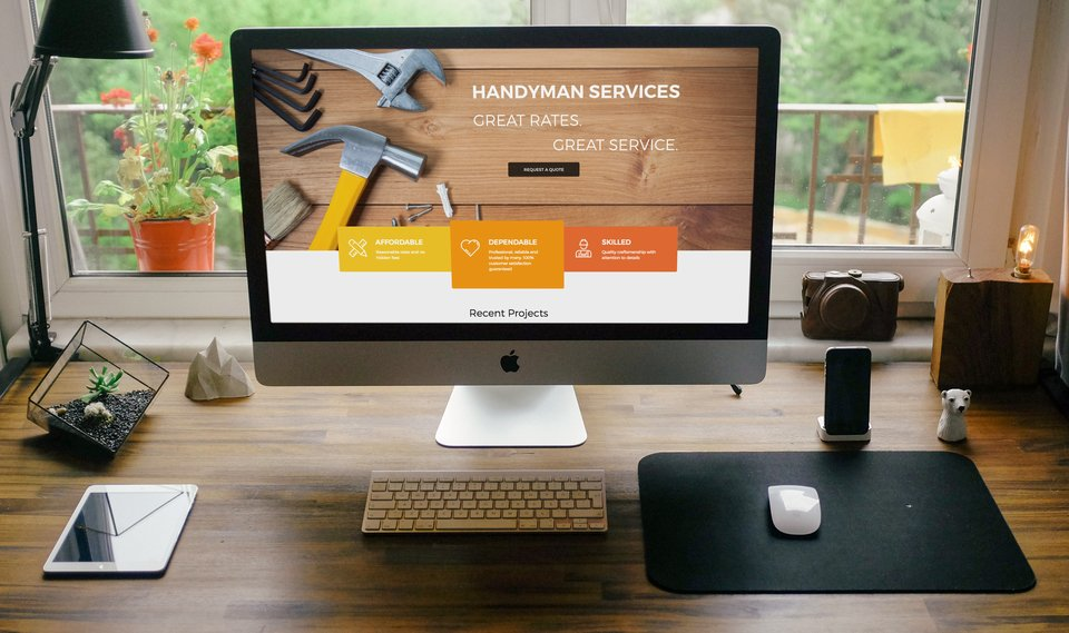 WordPress Handyman Website