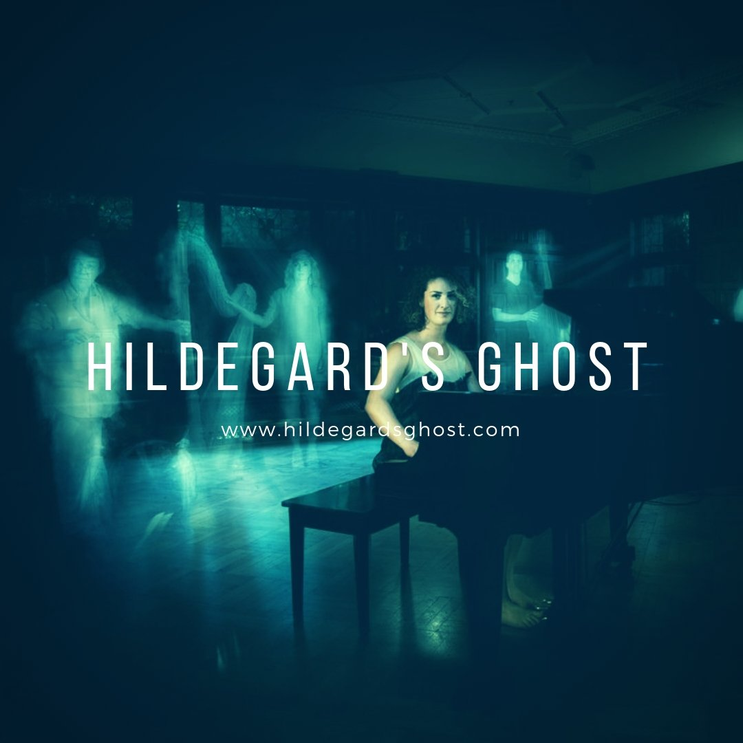 Band Website Design - Hildegards Ghost Music Band