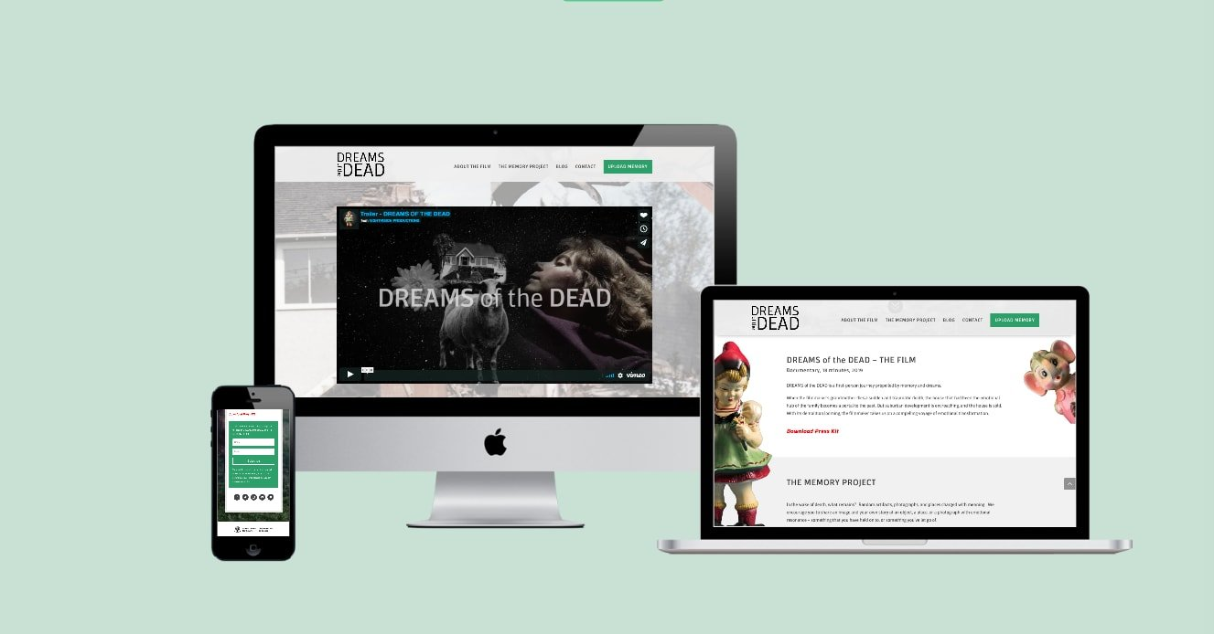 Movie and Film Website Design
