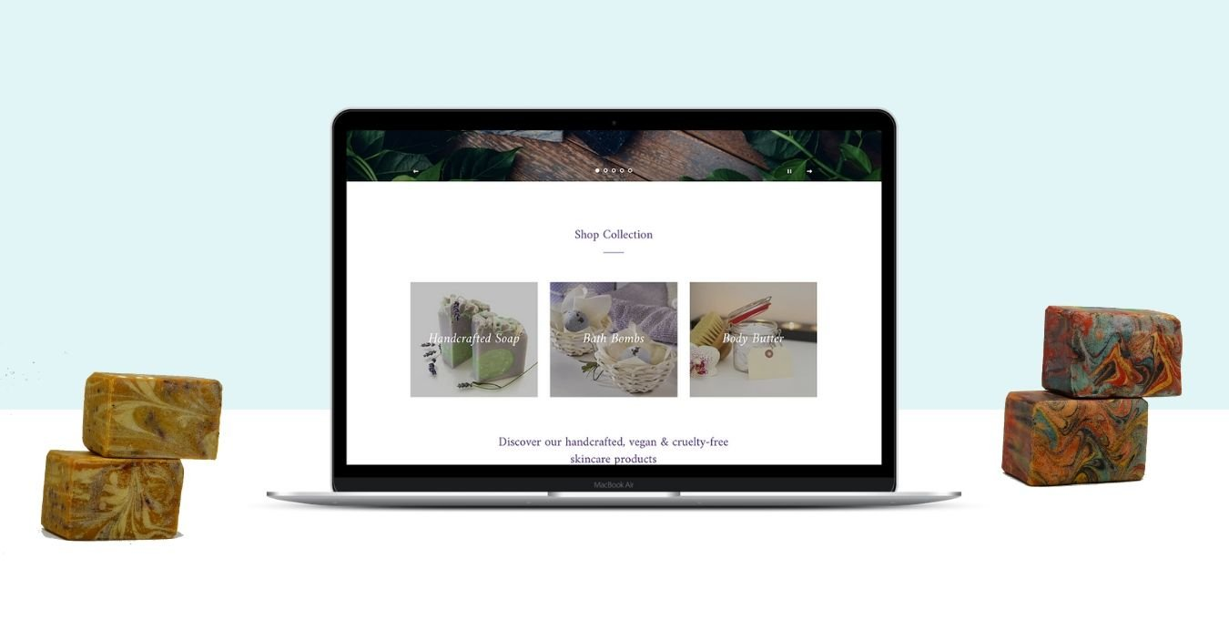 Shopify Web Design for Skincare Products