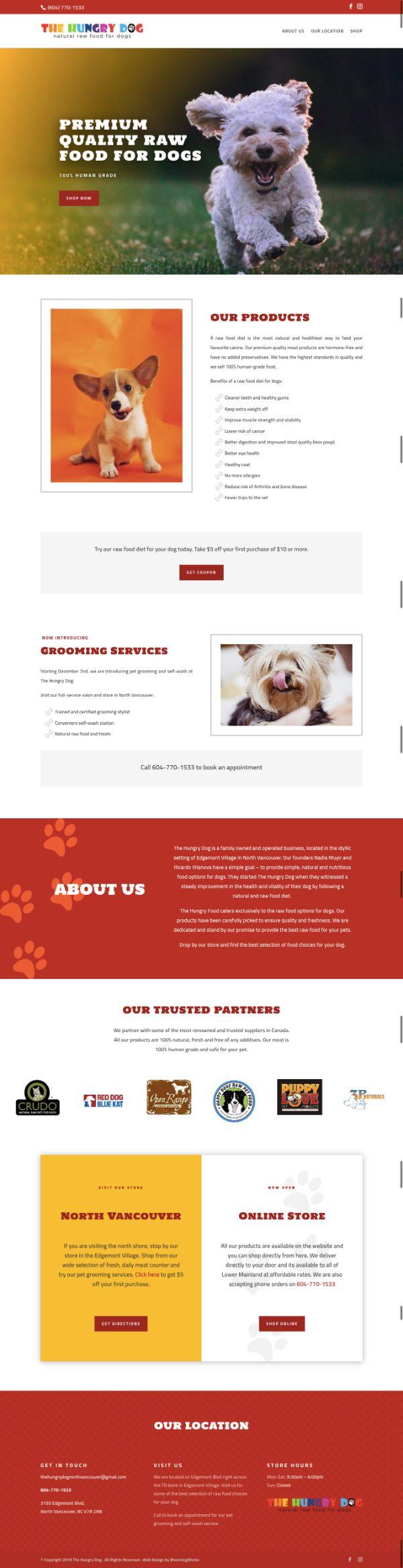 WordPress eCommerce store web design