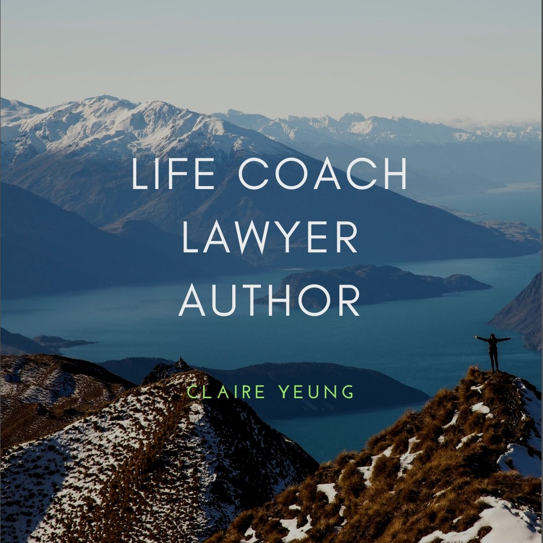 Website Design for Life Coach, Lawyer and Author - Claire Yeung