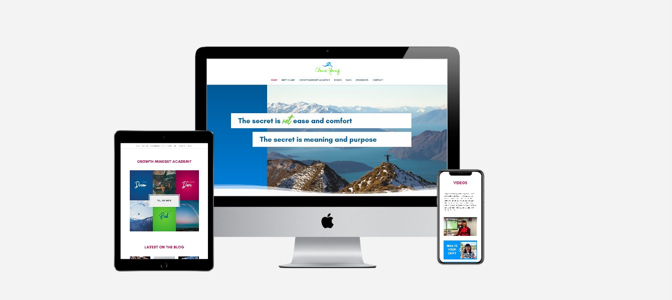 Life Coach Website Design for Claire Yeung in Vancouver
