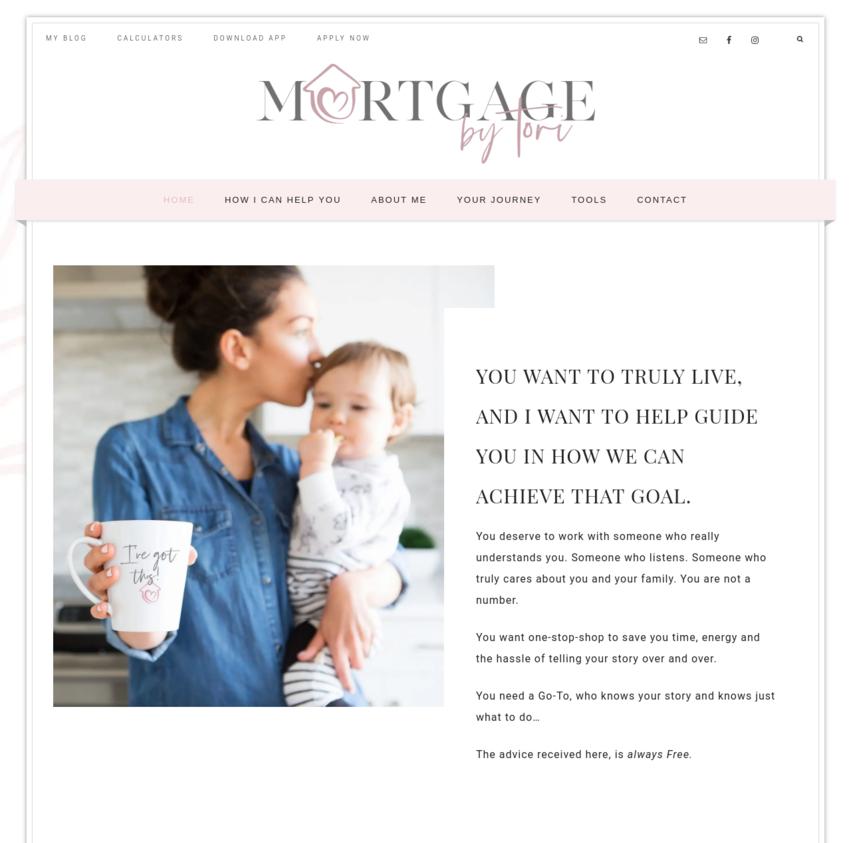 Mortgage-Broker-Website-Design-MortgageByTori-Vancouver