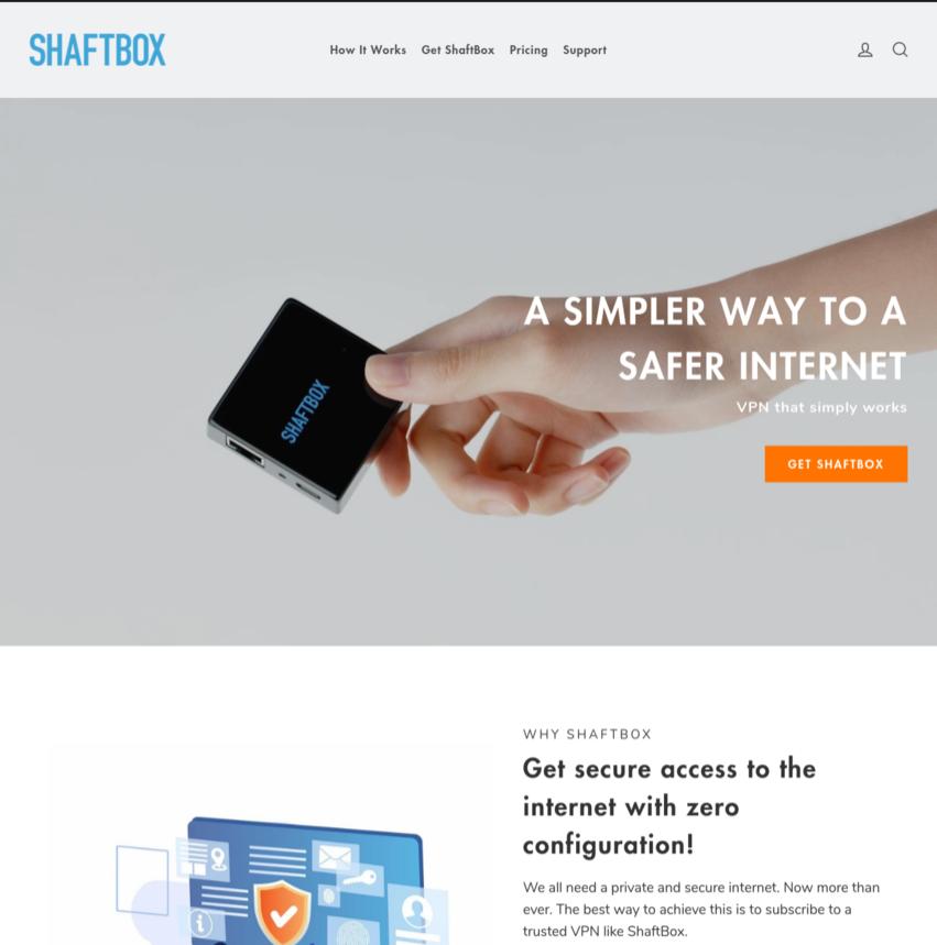Shopify-Single-Product-Website-Design-Shaftbox-Vancouver