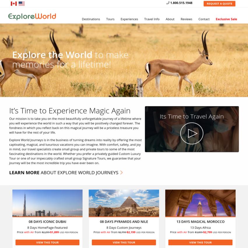 WordPress-Travel-Website-Design